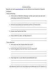 Unterrichtseinheit sexualerziehung klasse 9