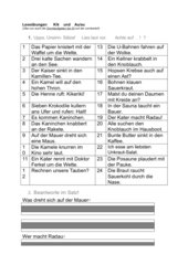 Leseübungen zum Tobi-Lehrgang 1