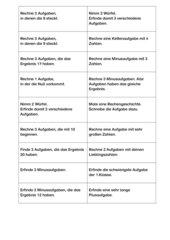 Rechenaufgaben+Leseverständnis