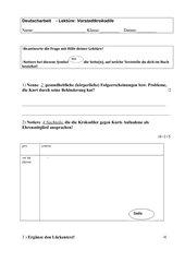 Deutscharbeit Vorstadtkrokodile