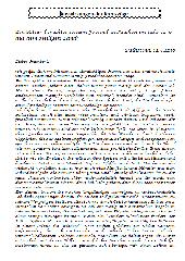Brief eines Kreuzfahrers in die Heimat