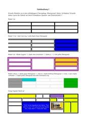 Tabellenübung 3 (ab Klasse 4)