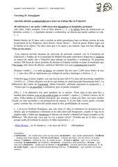Klausur zu emigración actual española a Alemania