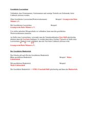 Geschützter Wortzwischenraum bzw. Bindestrich