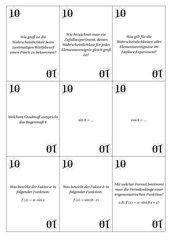 45 Quizfragen für die 10. Klasse
