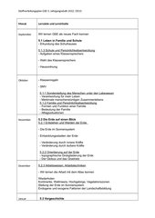 Stoffverteilungsplan GSE 5 Bayern