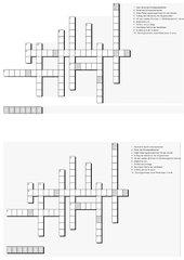 Kreuzworträtsel zum Landtag BaWü (GMS Klasse 8)