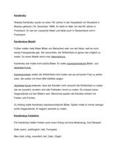 fr kinder verstndliche informationen ber kandinsky - Wassily Kandinsky Lebenslauf