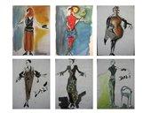 Design - Modeentwürfe nach Künstlern