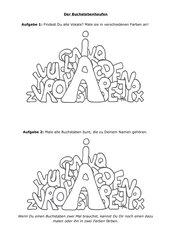 Der Buchstabenhaufen