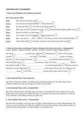 Satzarten: Satzzeichen setzen