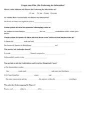 Fragebogen zum Film