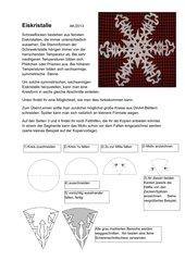 Schneeflocken - Eiskristalle
