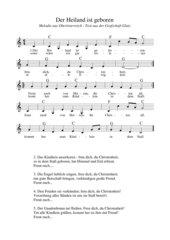 Der Heiland ist geboren - Weihnachtslied aus Oberösterreich