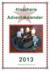 Adventskalender 2013  -  Zusammenstellung Teil 1
