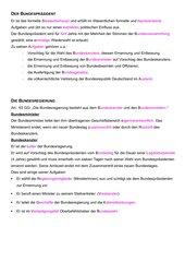 Verfassungsorgane der BRD