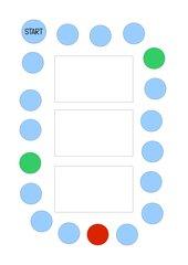 Spielplan für Mathematikspiel