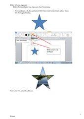 Bild in Form einfügen und einpassen ohne Verzerrung in Word 2010