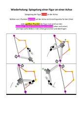 Achsenspiegelung, Mathematik, 5. Klasse, Mittelschule Bayern