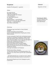 Reis-Pilz-Gericht