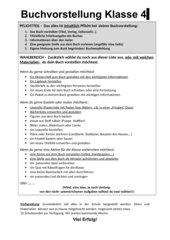Ideensammlung Buchvorstellung/ Buchpräsentation