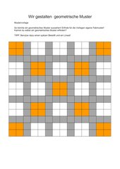 Geometrische Muster und Ornamente