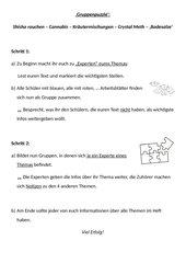 Anleitung zu einem Gruppenpuzzle