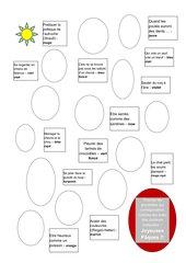 Osterrätsel - Sprichwörter