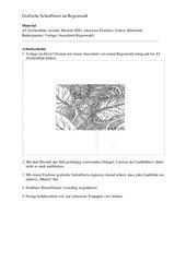Grafische Schraffuren im Regenwald --- Klasse 6