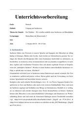 Umgang mit Sachtexten - Bsp.Rätselplakate zu Waldtieren I.