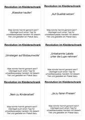 Revolution im Kleiderschrank