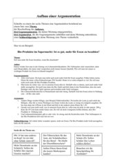 Argumentation schreiben cornelsen bachelorarbeit marketingkonzept b2b