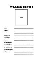 Englischer Steckbrief Steckbrief Englisch 6198354 Memorablesinfo