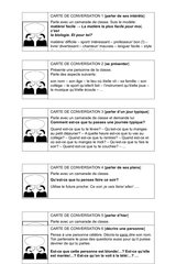 Kommunikationskarten La minute du partenaire