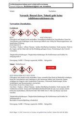 Aromaten reagieren nicht wie Alkene mit Bromwasser