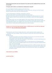 Brief an Eltern von SchülerInnen nichtdeutscher Herkunft - Entwurf, Version 4