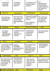 Quiz-Karten für Zwischendurch