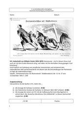 LK Leistungskurs Geschichte, Indemnitätsvorlage Bismarck, Liberale