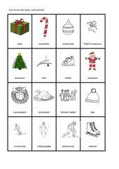 Weihnachtswörter Tabu o-ä