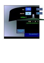 Raumschiff Teilbarkeit  – interaktiv