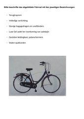 Fahrradteile kennzeichnen
