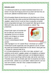Adventskalender 2014 - Zusammenmstellung Teil 4