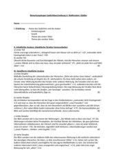 Bewertungsbogen für eine Gedichtbeschreibung: Wolfenstein Städter