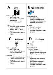 Reziprokes Lesen für Französischunterricht