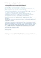 Brief an Eltern nichtdeutscher Herkunft - Türkisch