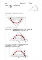 Anleitung Zeichnen eines WSW-Dreiecks