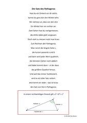 Gedicht Pythagoras