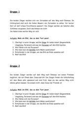 Emmaus-Bildergeschichte gestalten - Kl.3