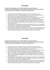 Vorurteile - Klischee oder Vorausurteil - Arbeitsblatt
