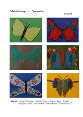 Schmetterlinge - Symmetrie
